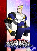 Captain Commando poster by Mono-Phos