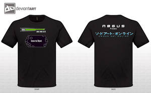 Sword Art Online T-Shirt (My Vision, Just for Fun) by joanx