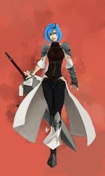Character Concept - Miyu by charlestanart