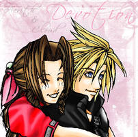 Aerith and Cloud by charlestanart