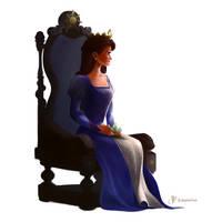 Rapunzel's Mother by charlestanart