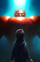 Big Hero 6 by charlestanart