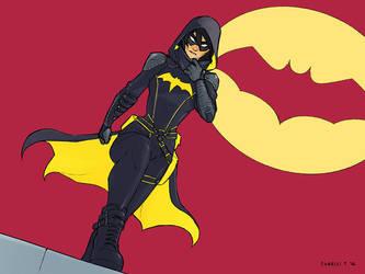 Batgirl - Cassandra Cain by charlestanart