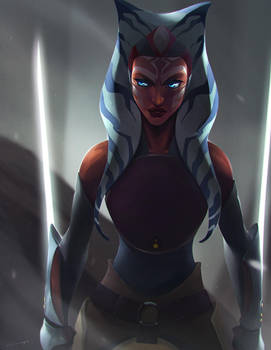 Ahsoka Lives by charlestanart
