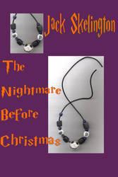 Jack Skelington necklace by JMUdreamANGEL