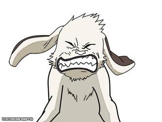 Akamaru (Naruto) by MrUpper