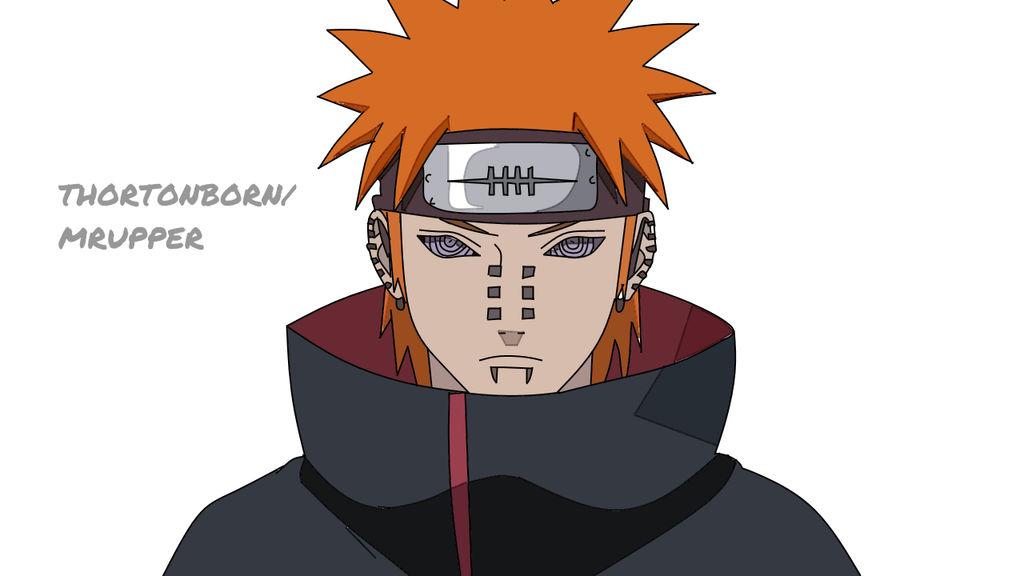Pain (Naruto Shippudden) by MrUpper