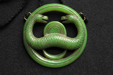 Thusla Doom Jade Medallion by CG-imagery