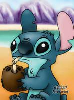 Stitch Fan Art by 29steph5