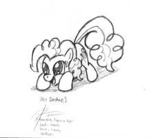 Pinkie Pie by leadhooves