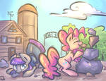 Rock Piles (Print Available - redbubble) by leadhooves
