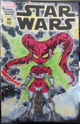 Star Wars #1, chibi Darth Talon by Pencilero