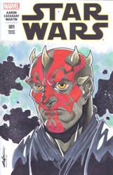 Star Wars #1: Darth Maul by Pencilero