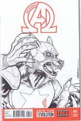 Cap Wolf! by Pencilero