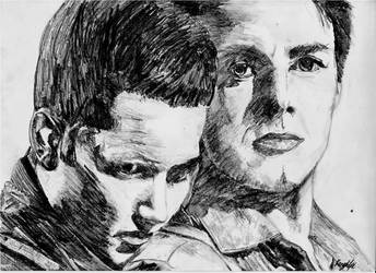 C. Jack Harkness + Ianto Jones by Gaia-Child3
