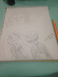 Jack Potter and young Ravenclaw girl Sally by nightangel5431