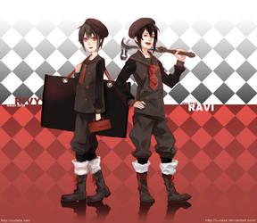 Twins: Ravi n Rivy by u-ness