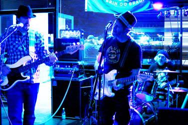 Bert Wray Blues Band by CarlMillerPhotos