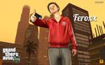 GTA self-portrait by FeroxX-Gosu