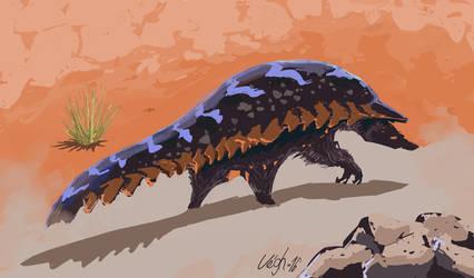 Desert Creature by FeroxX-Gosu