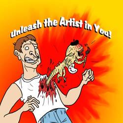 Unleash the Artist in You by JazzlasterBoris