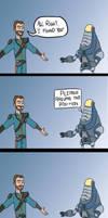 Fallout: New Vegas - Fisto by JazzlasterBoris