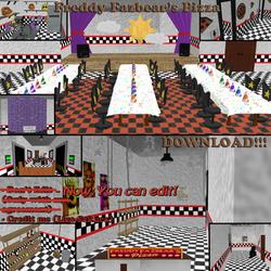 [MMD] Freddy Fazbear's Pizza Stage. DOWNLOAD!!! by LizaSakura