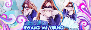 Mushroom girl by rinayoong