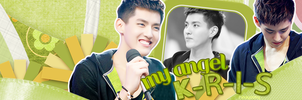 My angel: K-R-I-S by rinayoong