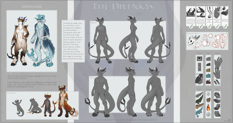 The Divenkas - Species references by Shalinka