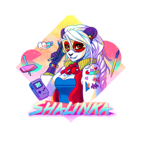 Badge Shalinka 80's by Shalinka