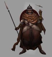 Desert Warrior by SandsGonzaga