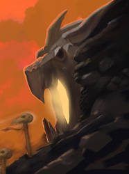 Into the Dragon's Maw by SandsGonzaga