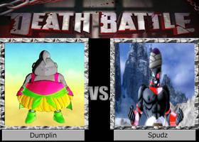 DEATH BATTLE Dumplin vs Spudz by El-Drago-800