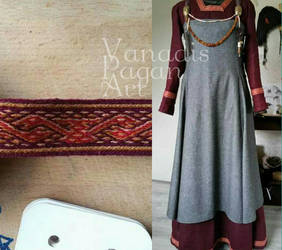 Viking dress and apron dress by VanadisPaganArt