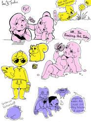 Doodles by Diamond-Skull