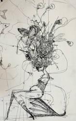 Scarecrow - sketch by zinaart
