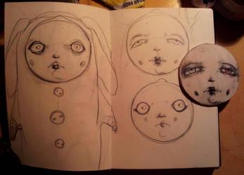 Sketches by zinaart