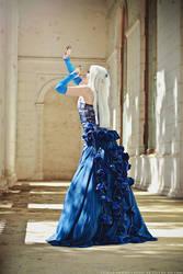Blue rose by TaisiaFlyagina
