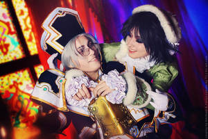 Trinity blood: Smile! Abel and Seth cosplay by TaisiaFlyagina