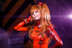Evangelion. Asuka cosplay by TaisiaFlyagina