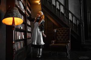 Asuka maid. Alternative home VIII by TaisiaFlyagina