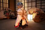 Rey Ayanami. Shibari shooting III by TaisiaFlyagina