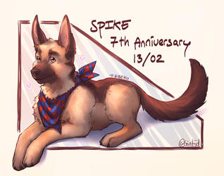 SPIKE 7th Anniversary by Gintijd