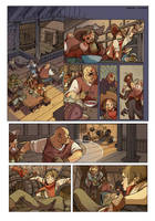 Comic page_the inn by saspy