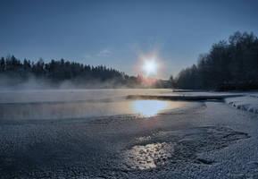 Frosty Sunset by Pajunen