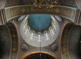 Uspenski Cathedral Ceiling by Pajunen