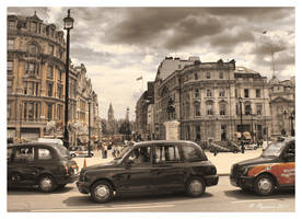 London Taxis by Pajunen