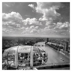 Eye Over London by Pajunen