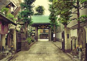 Shin-Okubo Korean Town by Pajunen